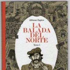 Fumetti: LA BALADA DEL NORTE. TOMO 1. ALFONSO ZAPICO. ASTIBERRI 2015. 2ª EDICION. COMUNA DE ASTURIAS. Lote 278366648