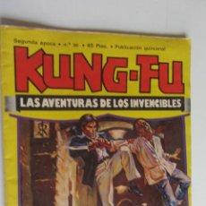 Comics: KUNG-FU. LAS AVENTURAS DE LOS INVENCIBLES. SEGUNDA 2ª EPOCA Nº 30. AMAIKA 1977. JOSE ORTIZ ARX120. Lote 278395658