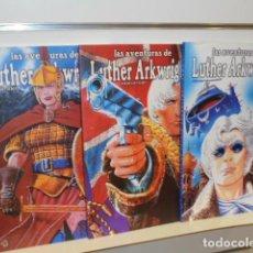 Fumetti: LAS AVENTURAS DE LUTHER ARKWRIGHT COMPLETA 3 TOMOS BRYAN TALBOT - RECERCA OFERTA. Lote 278415363