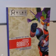 Cómics: ENCICLOPEDIA DEL ANIME VOLUMEN 1 ROBOTS - DUEEMME PUBLISHING OCASION. Lote 278416853