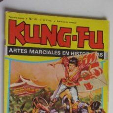 Comics: KUNG FU. LAS AVENTURAS DE LOS INVENCIBLES 49. GOLAN EL MONSTRUO ORTIZ / SALVADOR) AMAIKA 1981 ARX55. Lote 278474373