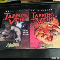 Cómics: TAPPING THE VEIN. COMPLETA. 2 TOMOS. Lote 278521898