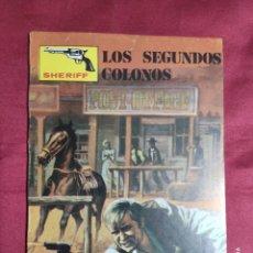 Cómics: SHERIFF. Nº 110. LOS SEGUNDOS COLONOS. VILMAR EDICIONES.. Lote 278532598