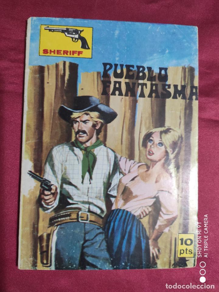 SHERIFF. Nº 124. PUEBLO FANTASMA. VILMAR EDICIONES. (Tebeos y Comics Pendientes de Clasificar)