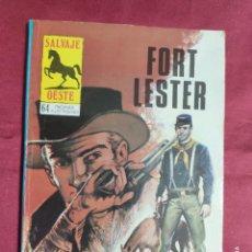 Cómics: SALVAJE OESTE. Nº 318. FORT LESTER. PRODUCCIONES EDITORIALES.. Lote 278536483