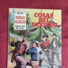 Cómics: SENDAS SALVAJES. Nº 48. COSAS DEL DESTINO. EDITORIAL ANTALBE. Lote 278537158