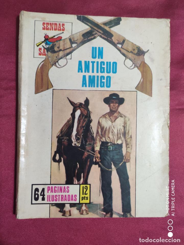 SENDAS SALVAJES. Nº 162. UN ANTIGUO AMIGO. PRODUCCIONES EDITORIALES (Tebeos y Comics Pendientes de Clasificar)