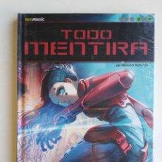Cómics: CÓMIC, TODO MENTIRA, CAMILA D'ERRICO ( NUEVO A ESTRENAR PLASTIFICADO ). Lote 278799753