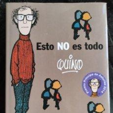Cómics: ESTO NO ES TODO - QUINO - LUMEN. Lote 278804298