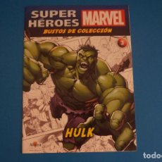 Comics : BUSTOS DE COLECCION DE FASCICULO SUPERHEROES MARVEL DE HULK AÑO 2017 Nº 3 DE ALTAYA LOTE 29 E. Lote 278805638