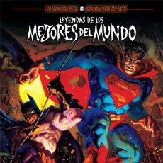 Cómics: BATMAN Y SUPERMAN. LEYENDAS DE LOS MEJORES DEL MUNDO. WALTER SIMONSON. 160 PGNS. TAPA DURA . ECC.. Lote 278887358