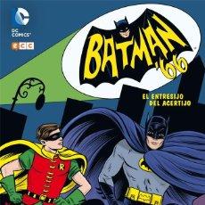 Cómics: BATMAN 66. EL ENTRESIJO DEL ACERTIJO. TAPA DURA. 176 PAGINAS. Lote 278887663