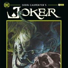 Cómics: JOHN CARPENTER. JOKER . TAPA DURA.. Lote 278918938