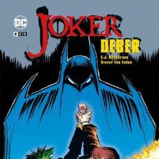 Cómics: JOKER. DEBER TAPA DURA. ECC. Lote 278920568