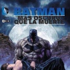 Cómics: BATMAN MAS OSCURO QUE LA MUERTE. TAPA DURA. ECC. 128 PAGINAS. Lote 278921928