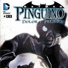 Cómics: BATMAN. PINGÜINO, DOLOR Y PREJUICIO. TAPA DURA. ECC. 120 PAGINAS. Lote 278923398
