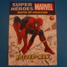 Comics : BUSTOS DE COLECCION DE FASCICULO SUPERHEROES MARVEL DE SPIDER MAN AÑO 2017 Nº 1 DE ALTAYA LOTE 29 E. Lote 279421763