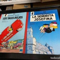 Cómics: VALENTÍN ACERO (BENITO SANSÓN), DE PEYO Y WILL. LOS TAXIS ROJOS Y LA SEÑORITA JOSEFINA. Lote 279427923