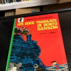 Cómics: BENITO SANSÓN, DE PEYO Y WALTHERY. LOS DOCE TRABAJOS DE BENITO SANSÓN. Lote 279428963