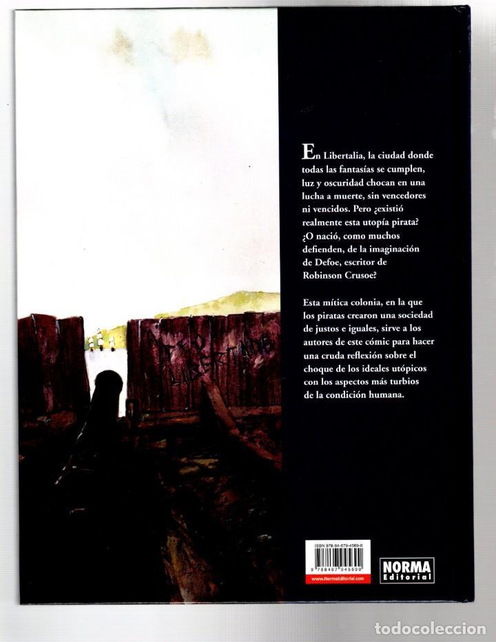 Cómics: LIBERTALIA - NORMA / CÓMIC EUROPEO / EDICIÓN INTEGRAL / TAPA DURA - Foto 2 - 277138788