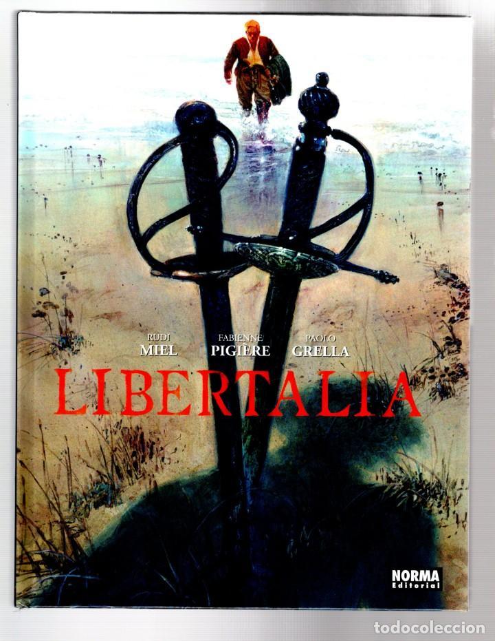 LIBERTALIA - NORMA / CÓMIC EUROPEO / EDICIÓN INTEGRAL / TAPA DURA (Tebeos y Comics - Comics otras Editoriales Actuales)