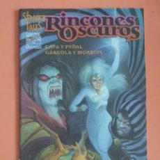 Cómics: STRANGE TALES - CAPA Y PUÑAL - MORBIUS - GARGOLA. Lote 280119618