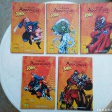 Cómics: LOTE DE 5 LIBROS MARVEL CÓMICS ( 1,2,3,4 Y 5 ) X-MEN. Lote 280469273