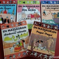 Cómics: LOTE DE 5 EN MASSAGRAN -EN CATALAN ( EST). Lote 280766613