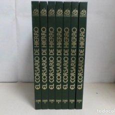 Comics: COLECCION EL CORSARIO DE HIERRO --COMPLETA 7 TOMOS --ESTADO EXCELENTE -1991 EDICIONES B S.A.-. Lote 281876178