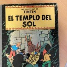 Fumetti: AVENTURAS DE TINTÍN - EL TEMPLO DEL SOL - 1961 - 2ª EDICIÓN. Lote 281905883