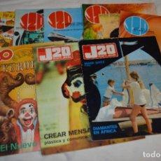 Cómics: J20 REVISTA JUVENIL / DIFERENTES ÉPOCAS / 8 EJEMPLARES / DE AÑOS 70 A LOS 90 ¡MIRA FOTOS/DETALLES!. Lote 281937458