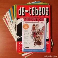 Cómics: LOTE PUBLICACIONES INFORMACIÓN DE CÓMICS Y TEBEOS TEBEOLANDIA, DE TEBEOS, EL BOLETÍN. Lote 267081394