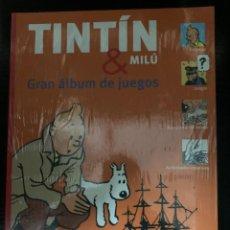Comics: TINTIN & MILÚ: GRAN ÁLBUM DE JUEGOS. Lote 282986688