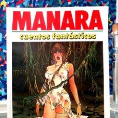 Cómics: BIBLIOTECA EXTRA - TOTEM - Nº 4 - MANARA - CUENTOS FANTÁSTICOS (NEW COMIC 1986). Lote 283459693