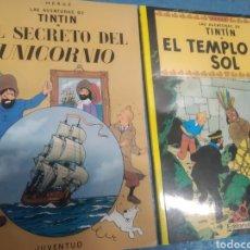 Cómics: LOTE DE 2 TINTIN DE TAPA BLANDA. Lote 283829478