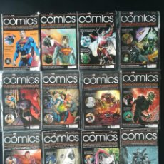 Cómics: LA REVISTA DE ECC COMICS 12 NUMEROS. Lote 284033603