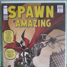 Fumetti: SPAWN - PORTADA VARIANTE HOMENAJE A AMAZING FANTASY - EN CASTELLANO. Lote 293521113