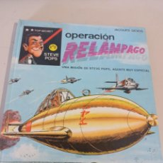 Fumetti: STEVE POPS OPERACIÓN RELÁMPAGO - JACQUES DEVOS - 1ª EDICION 1968 REF. UR. Lote 285376863