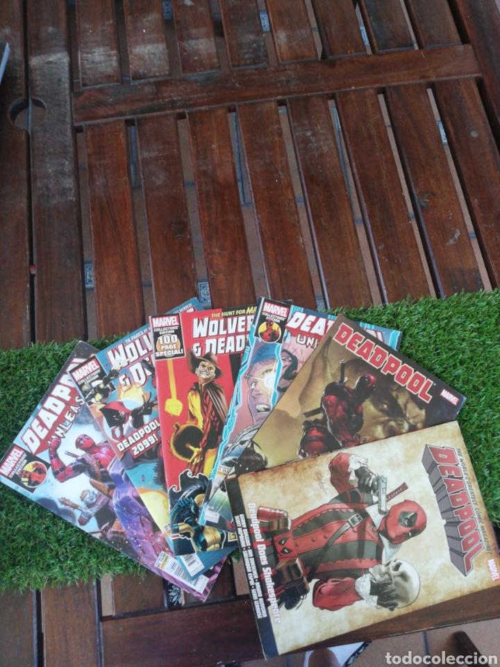 6 MARVEL DEADPOOL 2017-2018-2019 EN INGLES (Tebeos y Comics - Comics Pequeños Lotes de Conjunto)