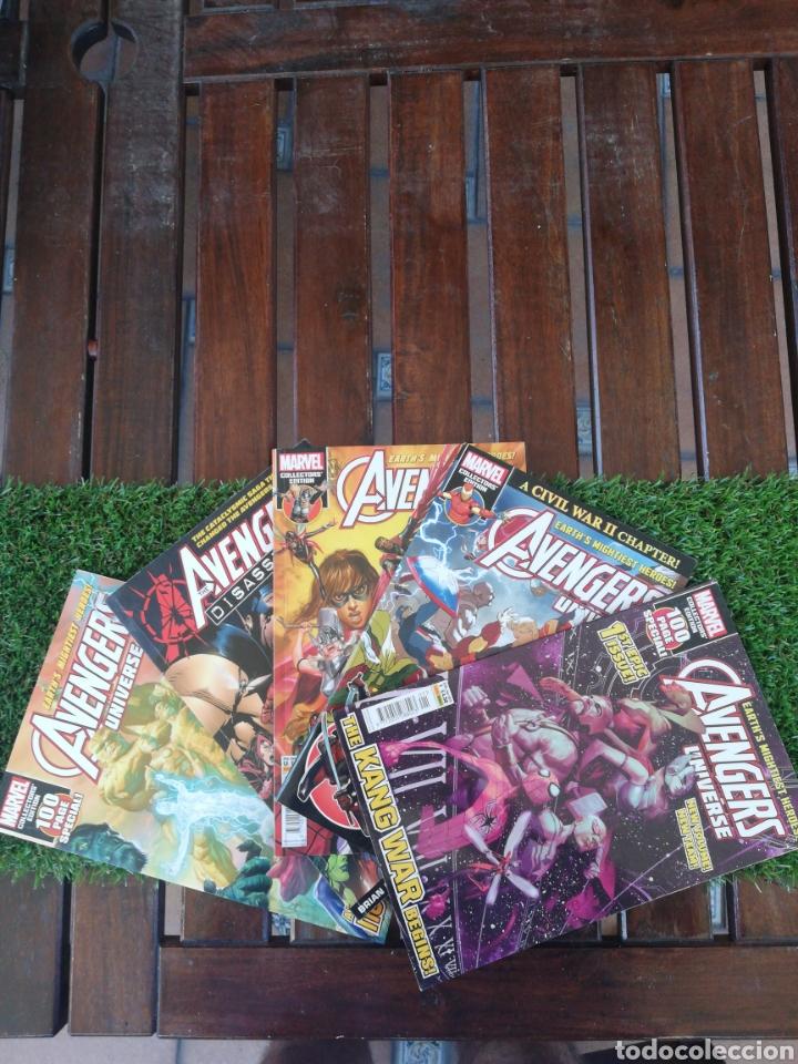 5 MARVEL AVENGERS UNIVERSE 2017-2018-2019 EN INGLES (Tebeos y Comics - Comics Pequeños Lotes de Conjunto)