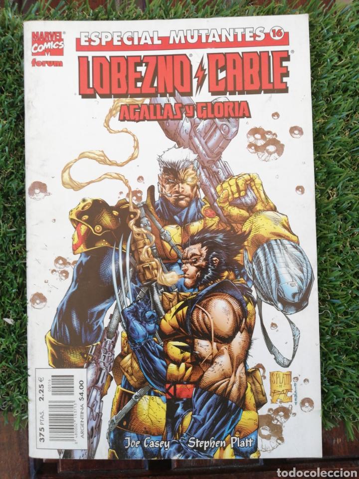 ESPECIAL MUTANTES 16 LOBEZNO MARVEL COMICS 1994 (Tebeos y Comics - Comics Pequeños Lotes de Conjunto)