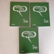 Cómics: FORGES HISTORIA DE AQUI - 3 TOMOS. Lote 285596783