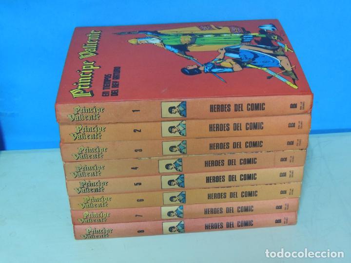 PRINCIPE VALIENTE 8 TOMOS COMPLETA - BURU LAN 1972/3 .- HAL FOSTER (Tebeos y Comics - Buru-Lan - Principe Valiente)