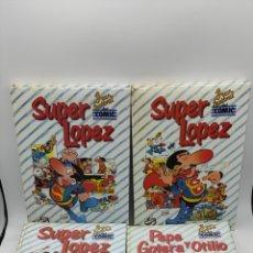 Comics: 5 LIBROS SUPER LÓPEZ Y PEPE GOTERA Y OTILLO. Lote 286253753