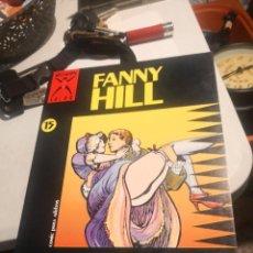 Cómics: EDICIONES LA CÚPULA. CÓMIC ADULTOS Nº 15 FANNY HILL COLECCION X. Lote 286330308