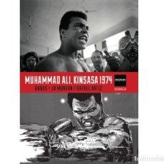 Cómics: MUHAMMAD ALI. KINSASA 1974 - ABBAS, MORVAN Y RAFAEL ORTIZ - DIABOLO. Lote 286439443