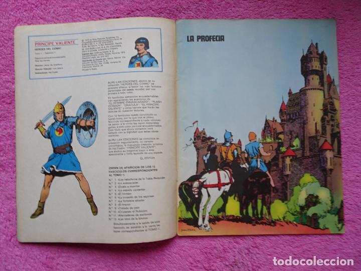 Cómics: príncipe valiente 1 los caballeros de la tabla redonda héroes del comic ediciones buru lan 1972 - Foto 2 - 287059603