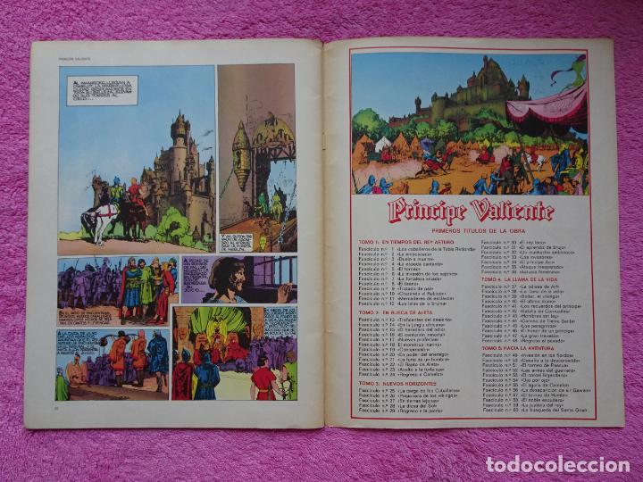 Cómics: príncipe valiente 1 los caballeros de la tabla redonda héroes del comic ediciones buru lan 1972 - Foto 6 - 287059603