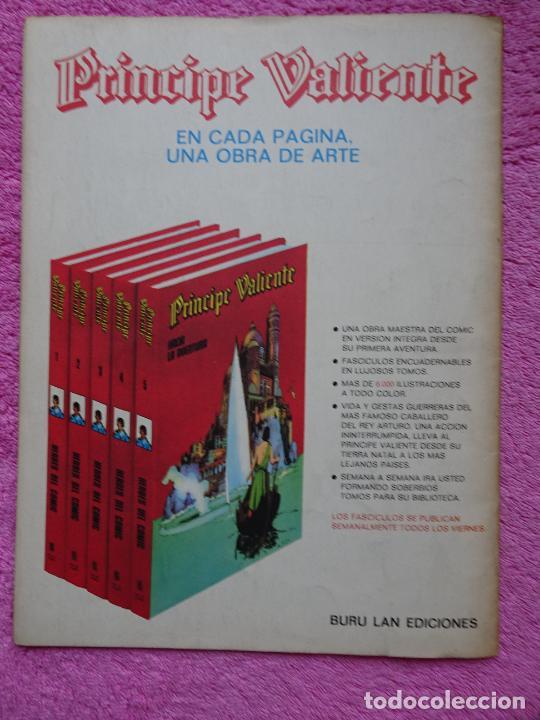 Cómics: príncipe valiente 1 los caballeros de la tabla redonda héroes del comic ediciones buru lan 1972 - Foto 7 - 287059603