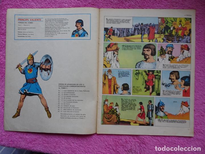 Cómics: príncipe valiente 2 la emboscada héroes del comic ediciones buru lan 1972 - Foto 2 - 287059858